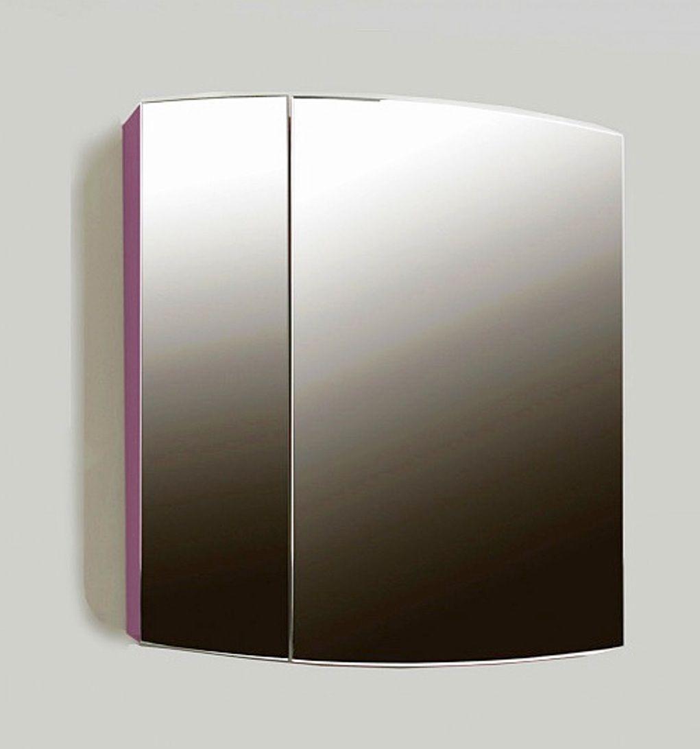 Навесной шкаф-зеркало Inizio 500 (Иницио) 50х57 ФОТО