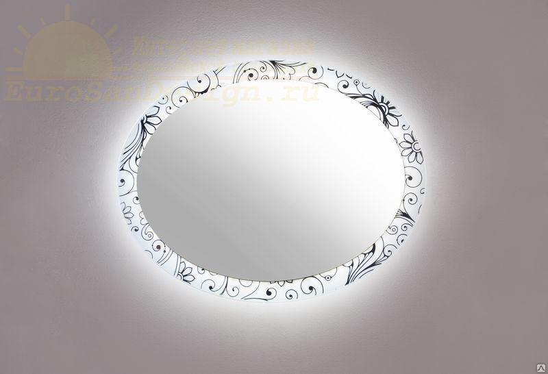 Зеркало с подсветкой Ispirato 700 (Испирато) 70х55 ФОТО