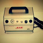 Компрессор Jas 1210, с регулятором давления, автоматика, ресивер 0,3 л, 2 выхода