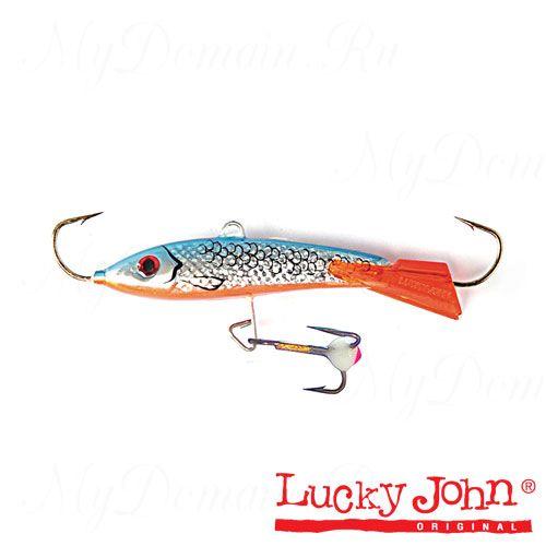 Балансир Lucky John CLASSIC 8 + тройник, 80мм, 27г, цвет 45H, блистер