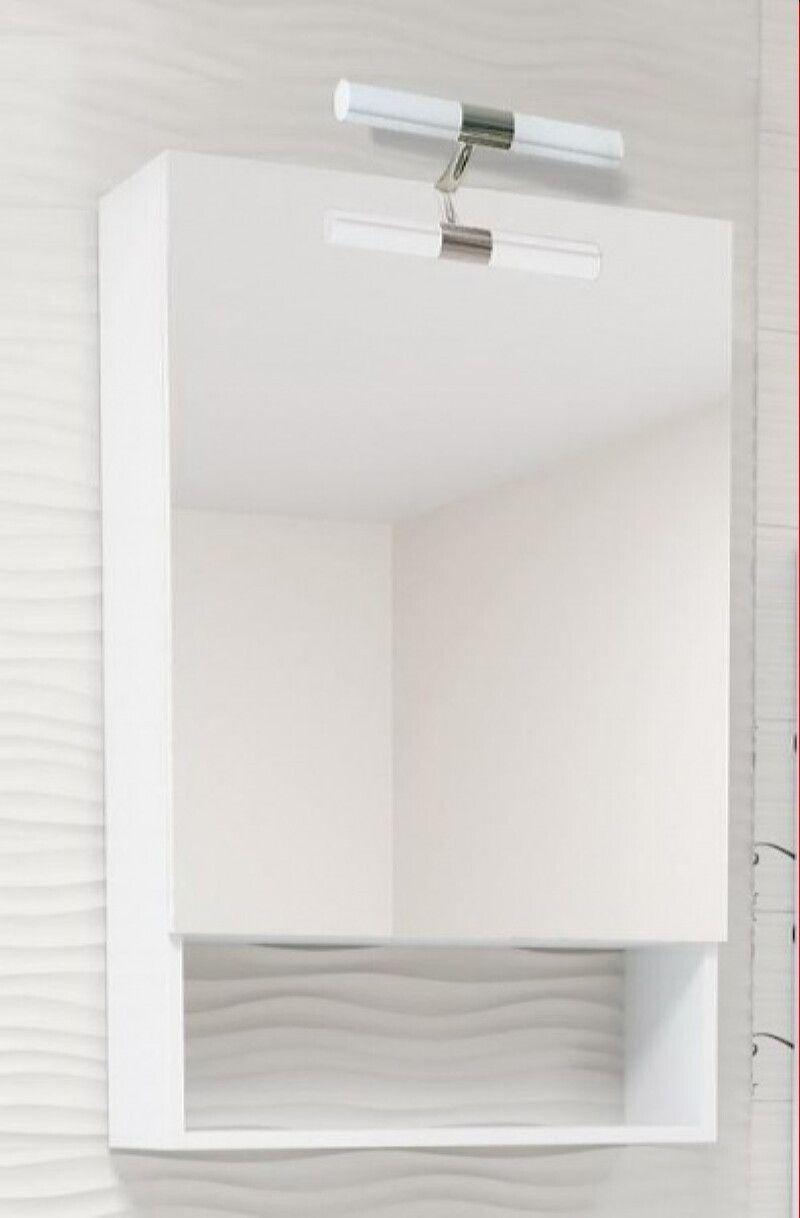 Навесной шкаф-зеркало Miragio (Мираджио) 60х90 ФОТО