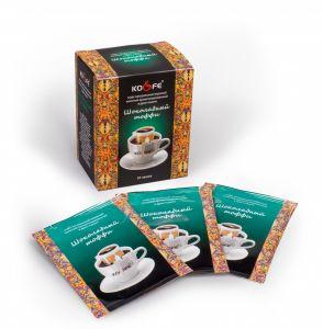 Кофе Шоколадный тоффи натуральный молотый в дрип-пакетах (8 шт. по 8 г)