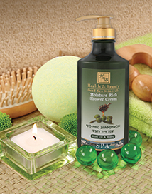 Увлажняющий крем для душа Оливковое масло и Мёд Health & Beauty (Хелс энд Бьюти) 780 мл