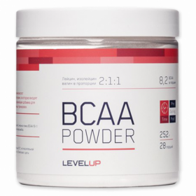 LevelUp BCAA Powder (252 гр.)