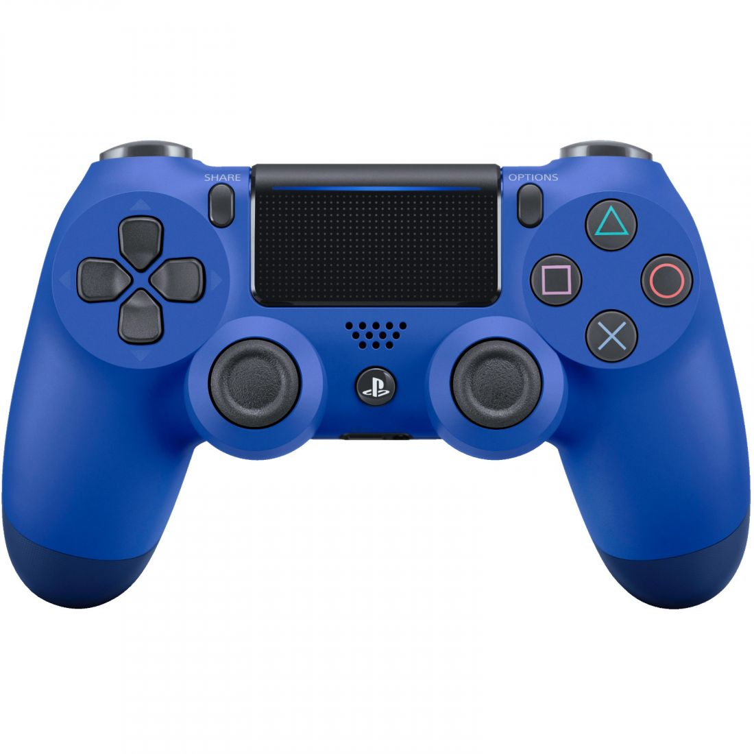 Sony Dualshock 4 v2 Color Wave Blue Геймпад для Ps4 синий