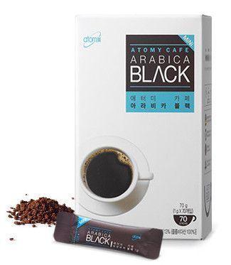 Атоми арабика кофе черный