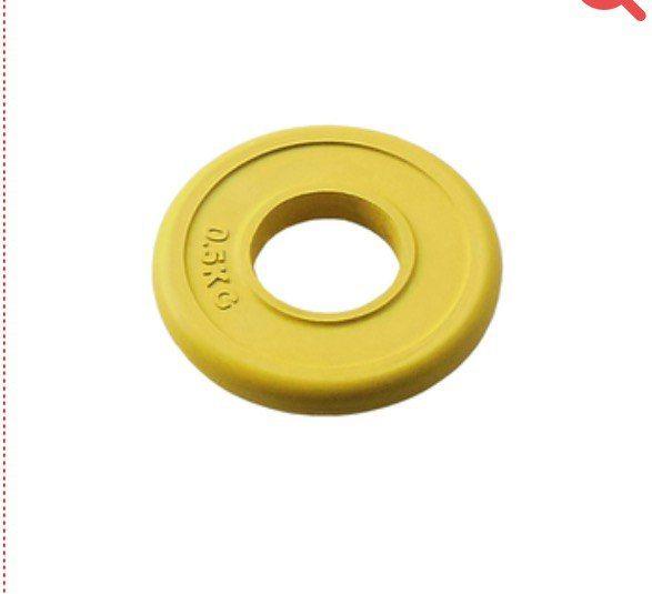 (71019-0,5С/51) Диск JOHNS d51 мм цветн. обрезиненный, 0,5кг