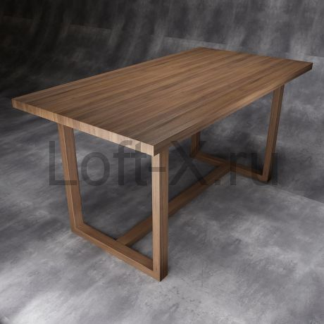 """Обеденный стол """"Дизайн О"""" из массива дуба"""