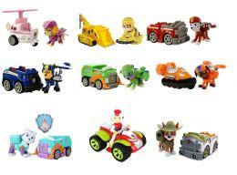 Большой (полный) набор из 10-и спасателей с машинками (Райдер, Гонщик, Скай, Крепыш, Зума, Маршал, Роки, Эверест, Трекер,  робопес) (Щенячий патруль)