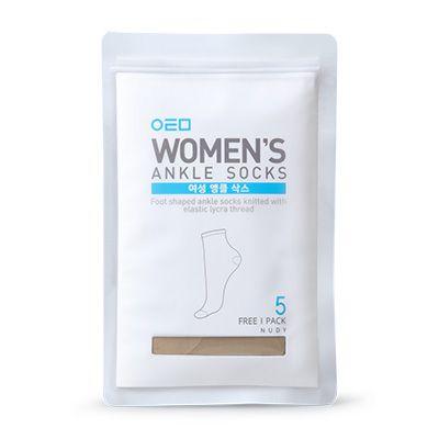 Atomy Women's Ankle Socks (5psc) Атоми набор носков (5 пар)