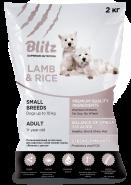 Blitz Adult сухой корм для взрослых собак мелких пород с ягненком и рисом 7 кг