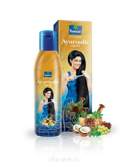 Масло для волос Advansed Ayurvedic Hair Oil Parachute (Парашют) 175 мл