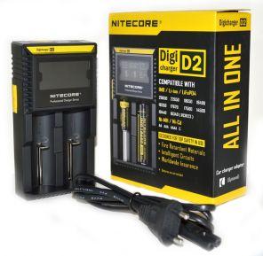 Зарядное устройство Nitecore D2 V2