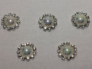 Кабошон, металл, 20 мм, цвет основы: серебро (1уп = 10шт), Арт. КБС0320-12