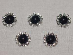 Кабошон, металл, 20 мм, цвет основы: серебро (1уп = 10шт), Арт. КБС0321-2