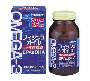 ORIHIRO Омега-3 180 капсул на 45 дней