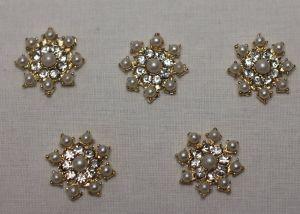 Кабошон, металл, цвет основы: золото, 24 мм (1уп = 10шт), Арт. КБС0324