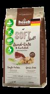 Bosch Soft Adult с уткой и картофелем Полнорационный корм для взрослых собак с чувствительным пищеварением (12,5 кг)