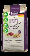 Bosch Soft Senior с козлятиной и картофелем Полнорационный корм для пожилых собак с чувствительным пищеварением и кастрированных собак (2,5 кг)