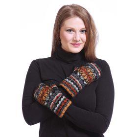 Варежки женские вязаные из Исландской шерсти 08402-33