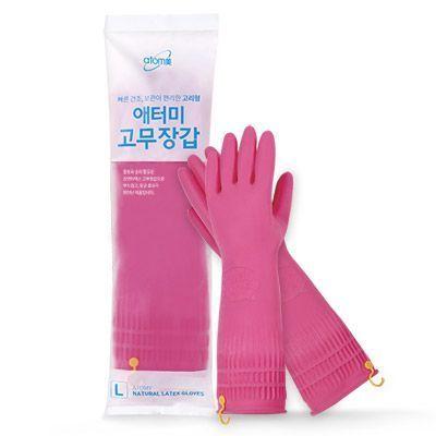 Atomy Natural latex gloves (Large) * 2pair Атоми каучуковые перчатки