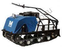 Мотобуксировщик Мужик 500 К13 Стандарт с двигателем 13 л.с., передний привод, катковая подвеска, вариатор Safari, ширина гусеницы 500 мм.