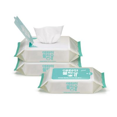 Atomy Wet wipes portable* 3ea Мокрые салфетки 3шт