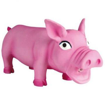 Игрушка Свинка хрюкающая, латекс