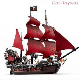 Конструктор King Пираты Месть королевы Анны 16009 (4195) 1151 дет