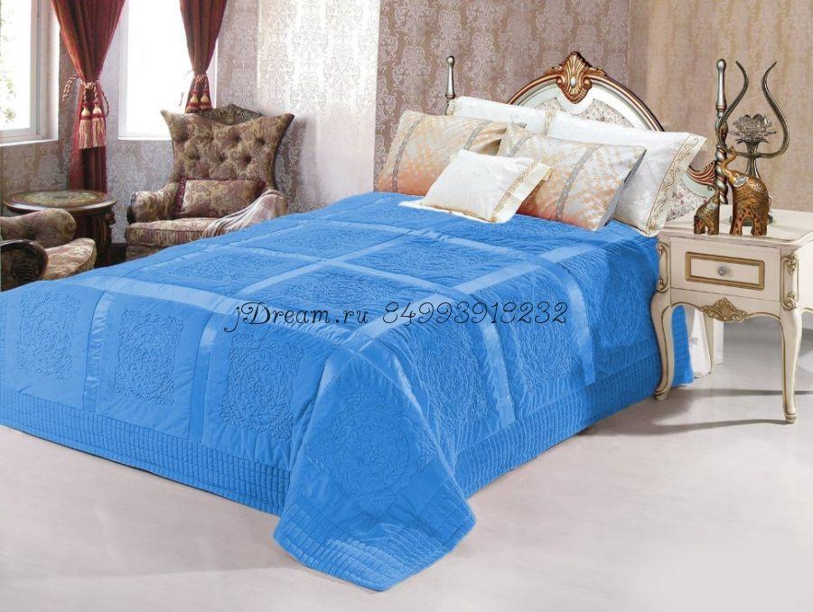 Покрывало Versache (голубое)