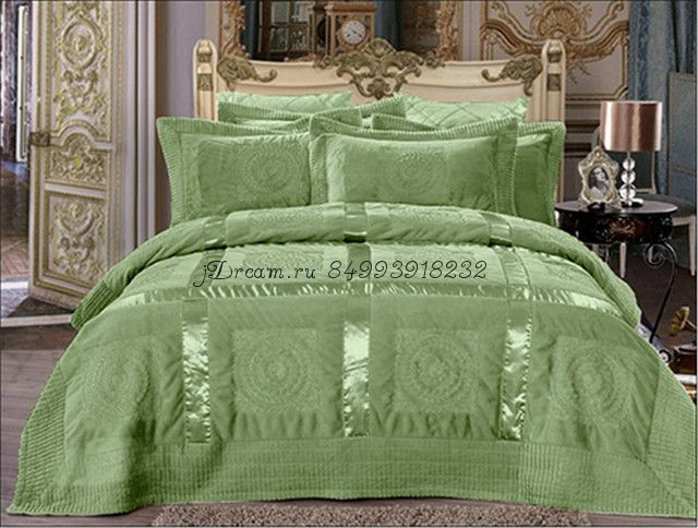 Покрывало Versache (зеленое)
