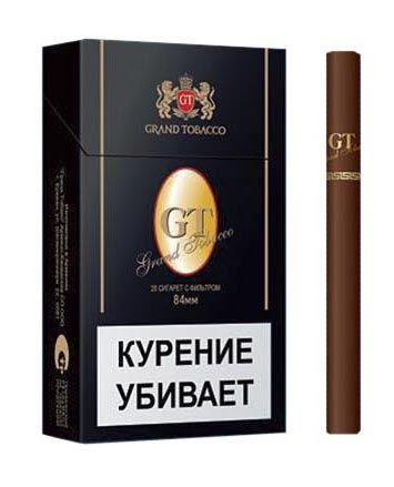 Сигареты GT Black