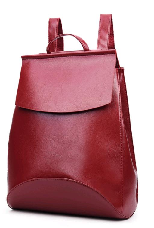 Рюкзак-сумка женская (красный)