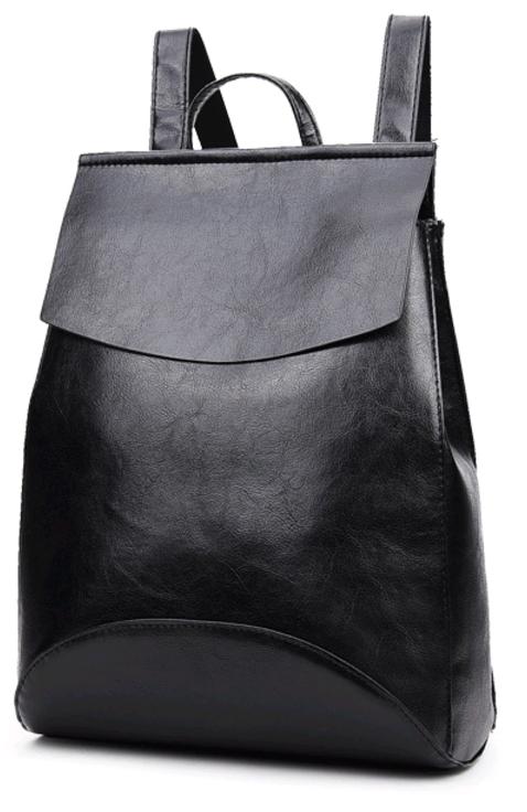 Рюкзак-сумка женская (черный)