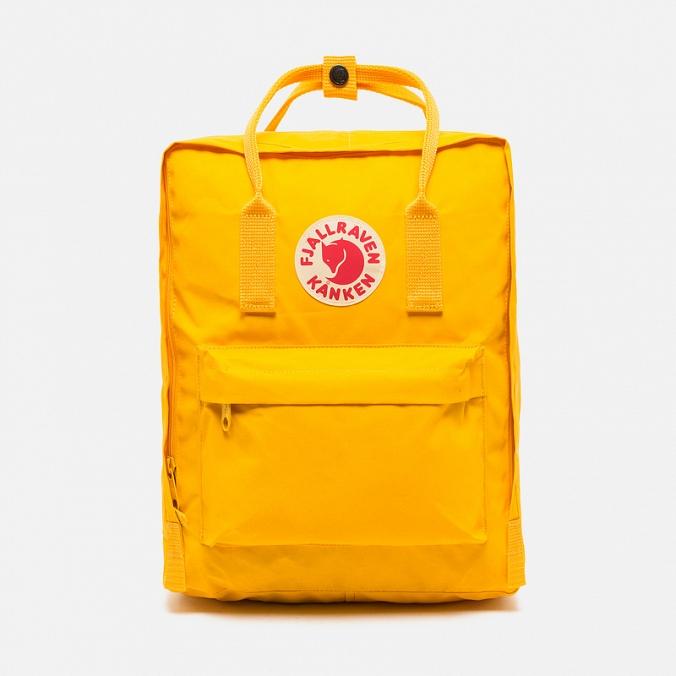 Рюкзак Fjallraven Kanken classic Warm Yellow (желтый) 141