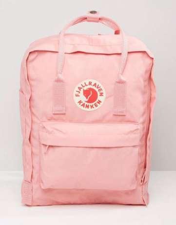 Рюкзак Fjallraven Kanken classic Pink (светло-розовый) 312