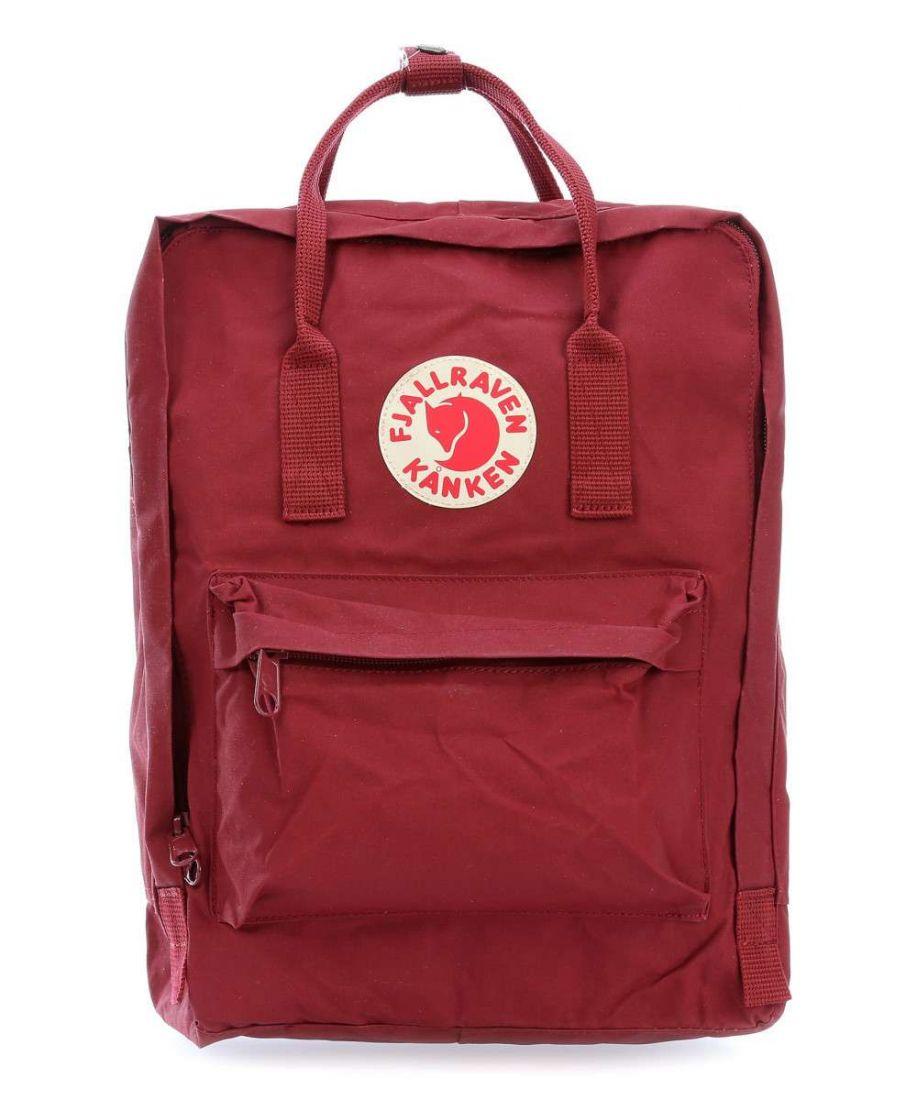 Рюкзак Fjallraven Kanken classic Ox Red (бордовый) 326