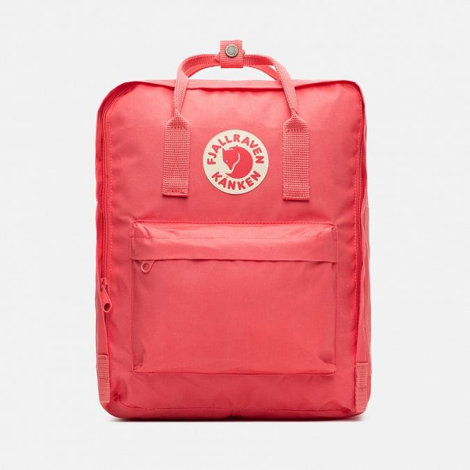 Рюкзак Fjallraven Kanken classic Peach Pink (темно-розовый) 319