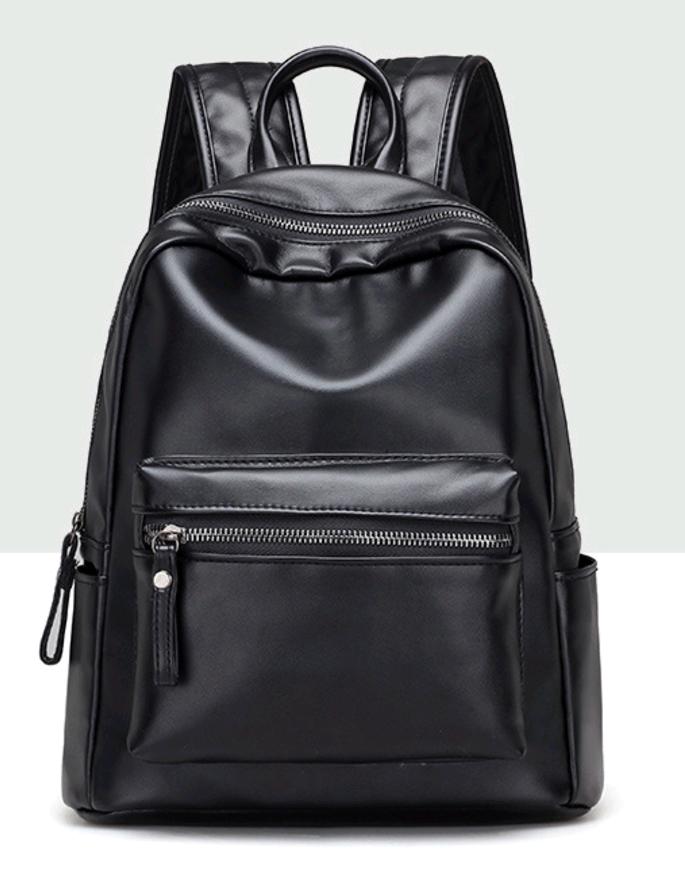Рюкзак женский ретро (Черный)