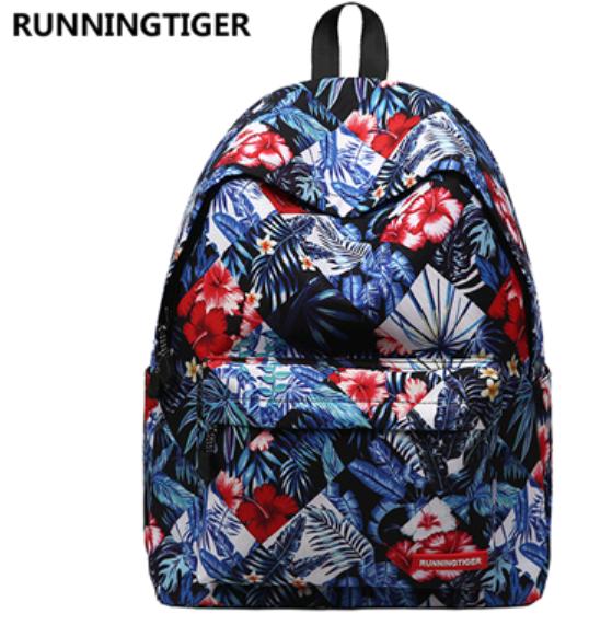 Рюкзак Runningtiger (в клеточку)