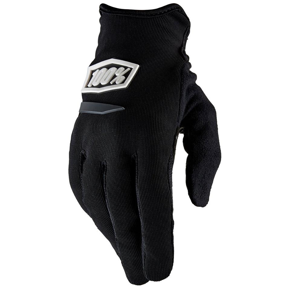 100% - Ridecamp Women's Black перчатки, черные
