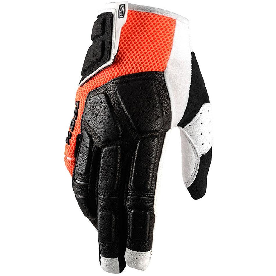 100% - Simi Orange перчатки, оранжевые