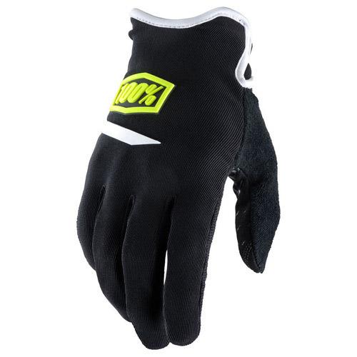 100% - Ridecamp перчатки, черные
