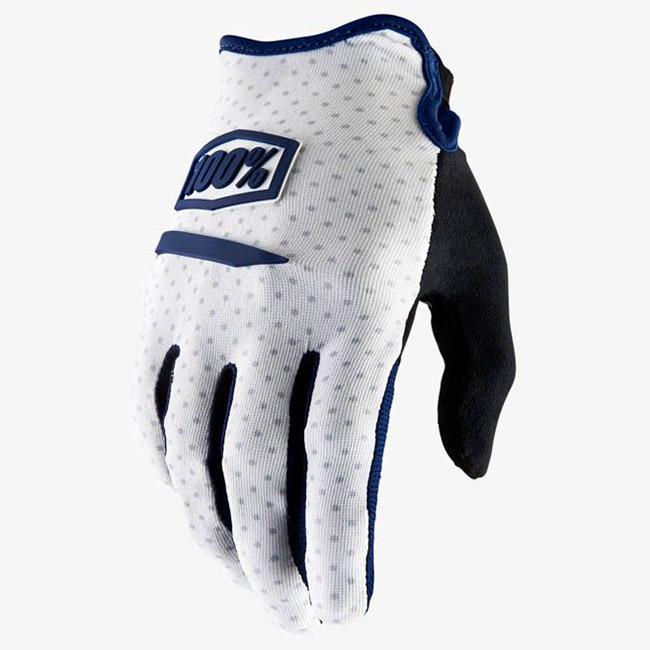 100% - Ridecamp White перчатки, белые