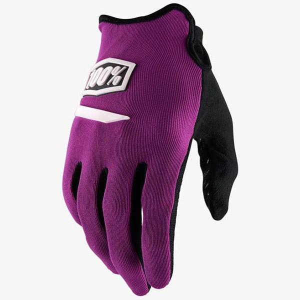 100% - Ridecamp Purple перчатки, фиолетовые
