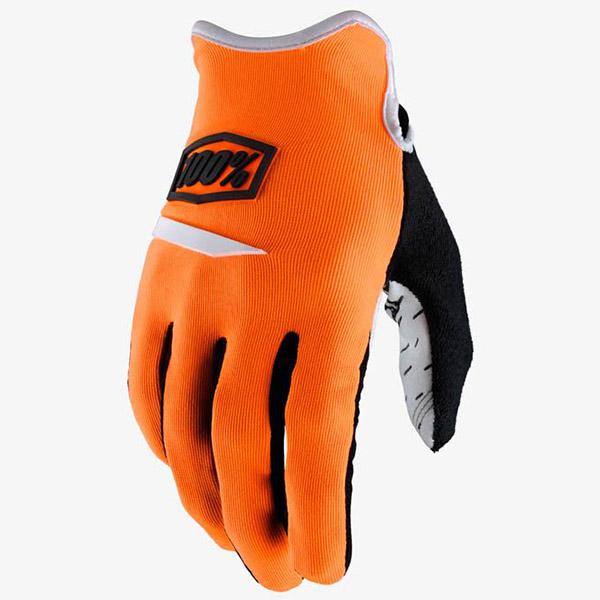 100% - Ridecamp Orange перчатки, оранжевые