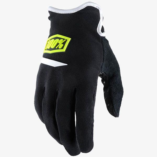 100% - Ridecamp Black перчатки, черные