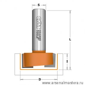 CMT 701.190.11 Фреза пазовая (Петли) (бреющий угол) S6 D19x19