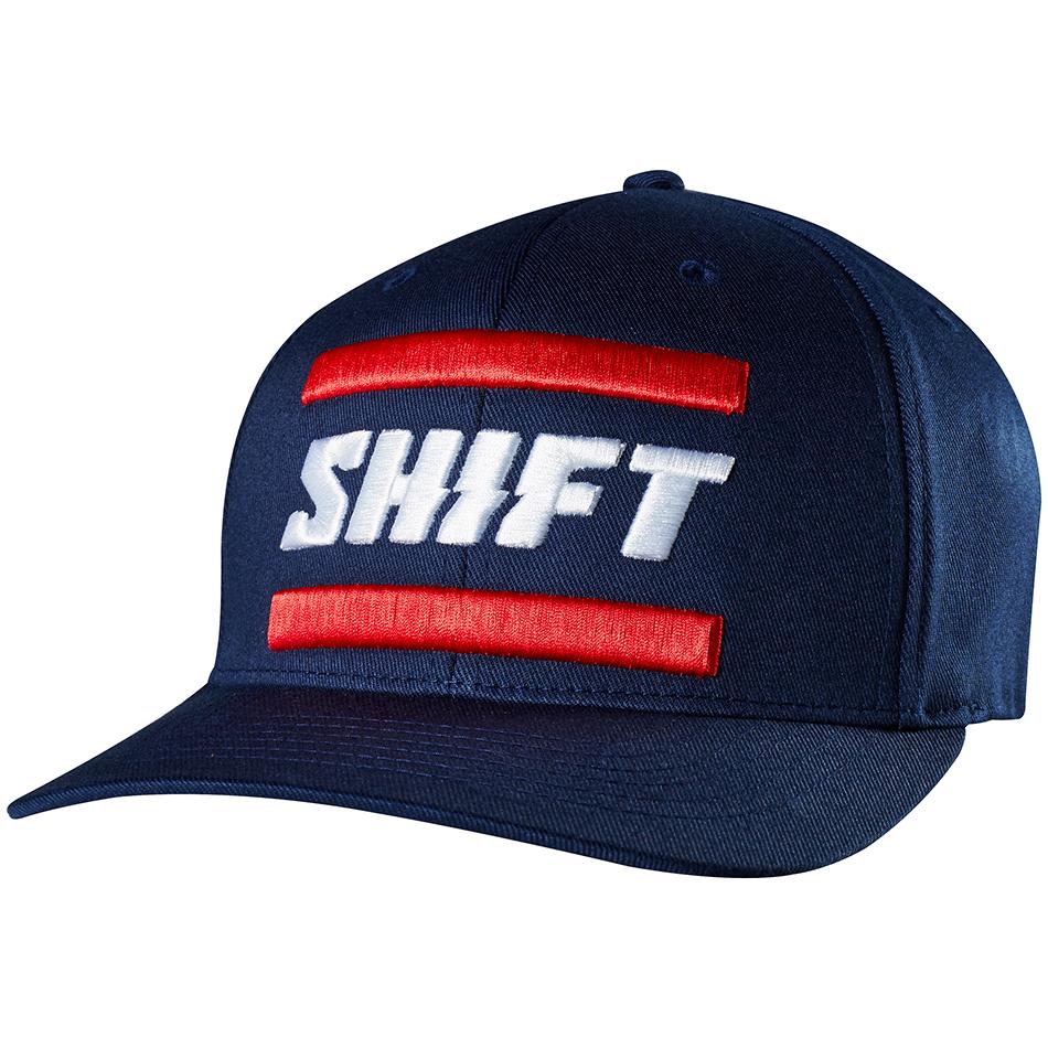 Shift - 3Lack Label Flexfit бейсболка, синий