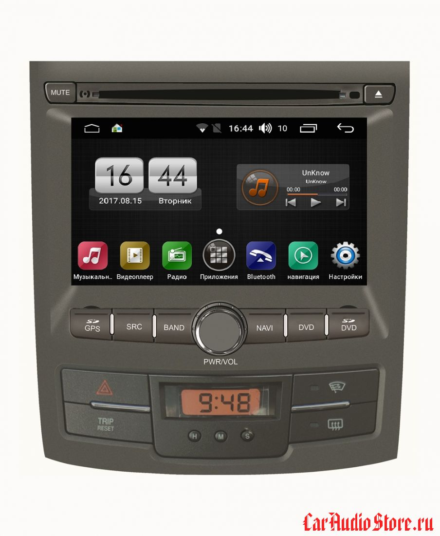 FarCar s170 для Ssang Yong Actyon 2010-2013 на Android (L159)